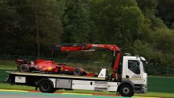 F1, FP2 Belgio: Ferrari male, incidente per Leclerc e Verstappen