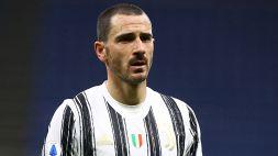 Juventus, Bonucci risponde ad Allegri sulla fascia da capitano