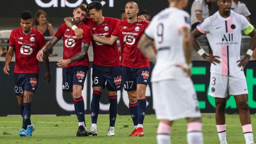Supercoppa di Francia, Lille-PSG 1-0: Xeka firma il successo storico