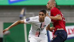 Lille-PSG, Hakimi parte con un ko: fischiato ad ogni pallone toccato