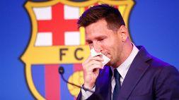 Barcellona, Lionel Messi saluta il Camp Nou: le parole di addio