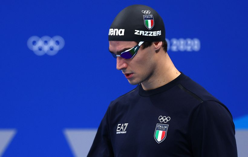 """Tokyo 2020: derubato Zazzeri, argento nel nuoto: """"Ridatemi i ricordi"""""""