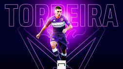 La Fiorentina annuncia l'arrivo di Torreira
