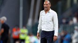 Juventus ad alta tensione: furia Allegri dopo la fine del mercato