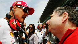 Michael Schumacher, il messaggio di speranza di Jean Todt