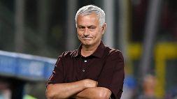 """Mourinho e l'espulsione di Pellegrini: """"L'arbitro ha fatto una ca...ta"""""""