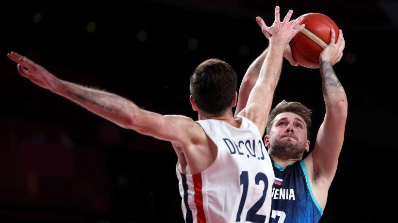 Tokyo 2020: alla Slovenia non basta Doncic, Francia in finale con gli Stati Uniti