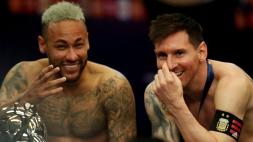 """Neymar e l'accoglienza via social per Messi: """"Back together"""""""