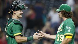 MLB: Boston sempre più giù, vola Oakland