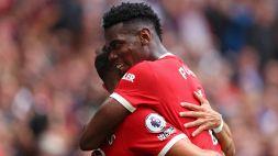Bruno Fernandes e Pogba show: tripletta e 4 assist all'esordio del Manchester United
