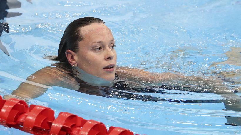 Tokyo 2020: altro bronzo nel nuoto, Pellegrini sesta ma serena