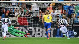 Serie A, Szczesny da incubo: l'Udinese blocca la Juventus