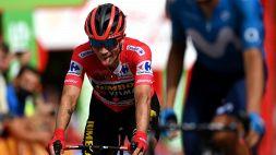 Vuelta Espana, Roglic rassicura tutti dopo la caduta