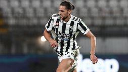 Juventus, lesione alla coscia per Rabiot: nuovi esami tra 10 giorni