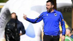 "Sampdoria, D'Aversa: ""Meritavamo di più"""