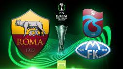 Sorteggio Conference League: la Roma contro la vincente di Trabzonspor-Molde
