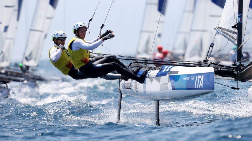 Tokyo 2020: Ruggero Tita e Caterina Banti già sicuri dell'argento nella vela