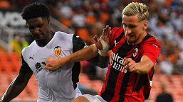 Milan, sconfitta ai rigori contro il Valencia: decisivo l'errore di Krunic