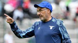 """Lazio, Sarri: """"Siamo in piena costruzione"""""""