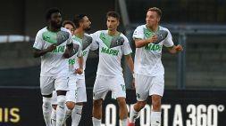 Verona-Sassuolo 2-3: Raspadori, Djuricic e Traoré lanciano i neroverdi