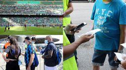 Serie A: stadi riaperti, da San Siro a Torino tifosi col green pass