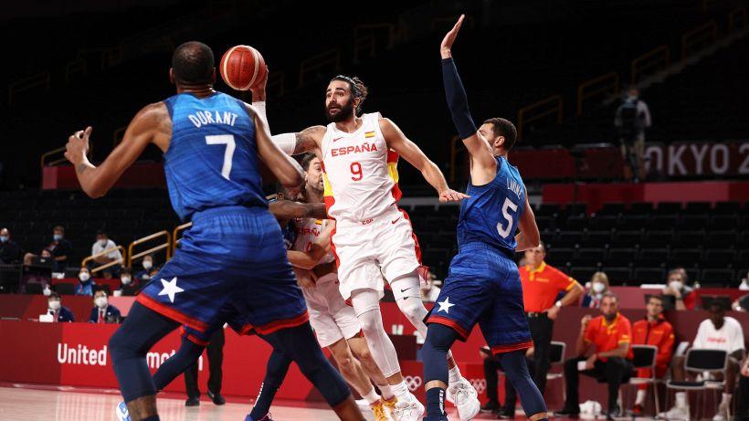 Tokyo 2020: Stati Uniti in semifinale, alla Spagna non bastano 38 punti di Ricky Rubio
