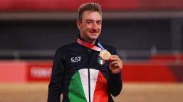 Tokyo 2020, ciclismo: Viviani bronzo nell'Omnium, le foto