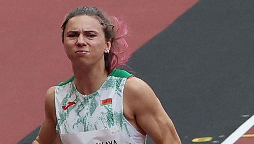 Krystsina Tsimanouskaya, l'atleta che ha sfidato Lukashenko a Tokyo