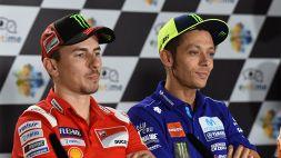 "Ritiro Rossi, parla Lorenzo: ""Vale come Ali, Senna, Woods o Jordan"""