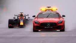 F1, gara farsa in Belgio: vince Max Verstappen, ma non si è corso