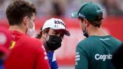 """Vettel: """"Alonso ha fatto qualcosa di impossibile"""""""