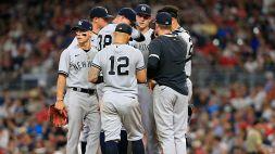 MLB: 11a vittoria consecutiva per gli Yankees