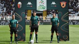 Serie B: le designazioni arbitrali per la 7a giornata