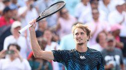 """US Open, Zverev: """"Contento del mio esordio"""""""