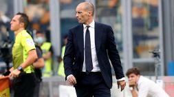 """Allegri protegge la Juventus: """"Abbiamo visto di peggio..."""""""