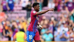 Il ritorno di Ansu Fati: il nuovo 10 del Barça segna al rientro