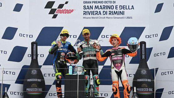 Tripletta italiana a Misano in Moto3, vince Foggia