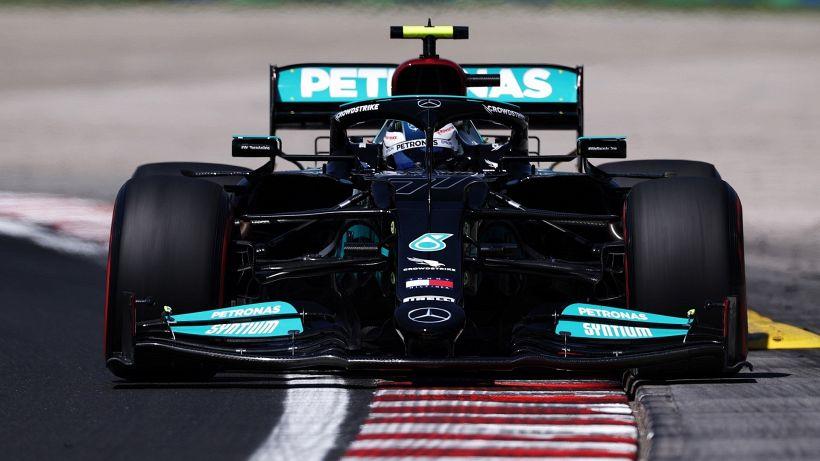"""F1, Valtteri Bottas: """"È stata una buona giornata"""""""
