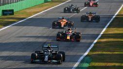 F1, sprint race Monza: vince Bottas ma pole Verstappen. Ferrari ok