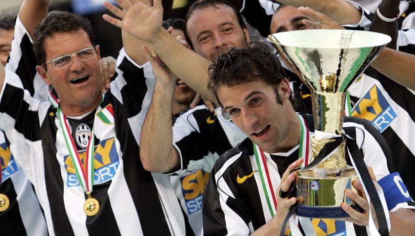 La previsione di Fabio Capello su Alex Del Piero è più di una battuta