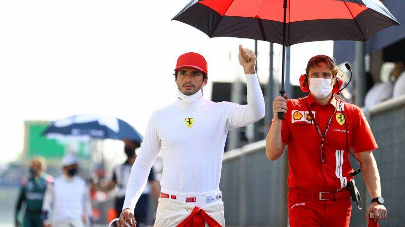 F1, Sainz non si pente di aver scelto la Ferrari