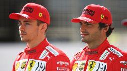 F1, GP Monza: Leclerc punge Hamilton, Sainz i critici Ferrari