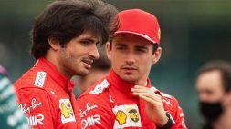 F1, Ferrari: duello Sainz-Leclerc, il retroscena dello spagnolo