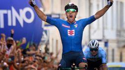 Ciclismo, enorme Colbrelli in volata: è campione d'Europa!