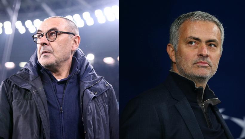 Lazio-Roma: tra Sarri e Mourinho, due diversi stili di comunicazione