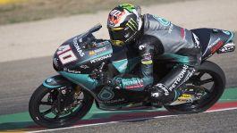 GP Aragona Moto3, Darryn Binder in pole