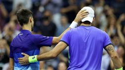 US Open: Berrettini-Djokovic, le foto del match