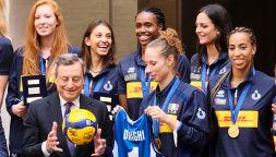 La lezione del volley azzurro secondo il premier Mario Draghi