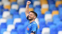 Leicester-Napoli, Mertens può esserci: è recuperato