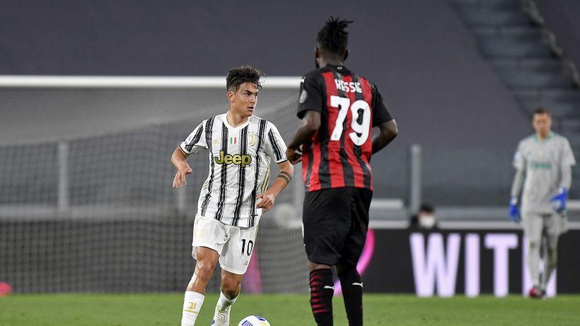 Verso Juventus-Milan: Dybala e Kessié sono ancora un grande rebus